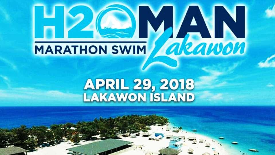 H2OMan Marathon Swim Lakawon 2018