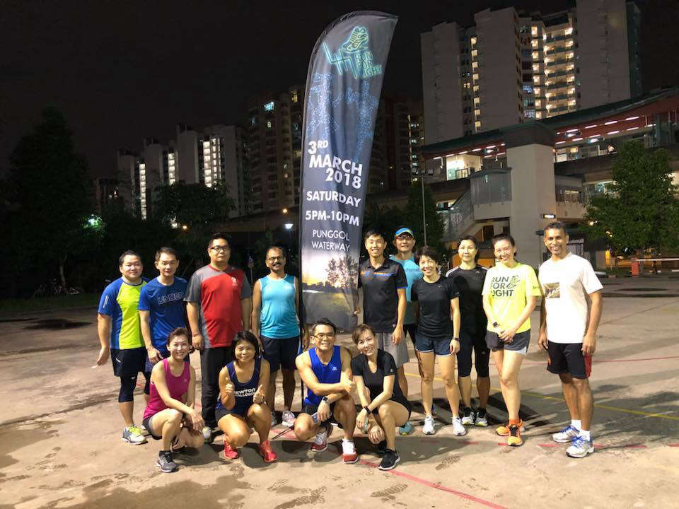 Run For Light 2018 Debuts in Punggol Waterway Park