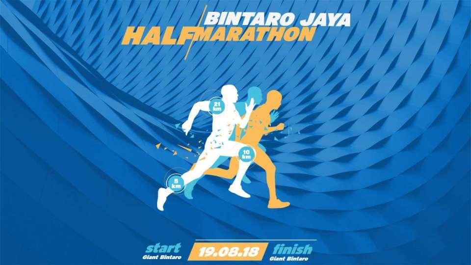 Bintaro Jaya Halfmarathon 2018