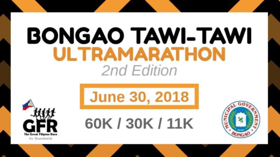 Bongao Tawi-Tawi Ultramarathon 2nd Edition 2018