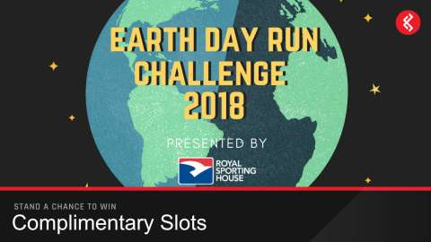 Win a Earth Day Run Challenge 2018 By Royal Sporting House Slot