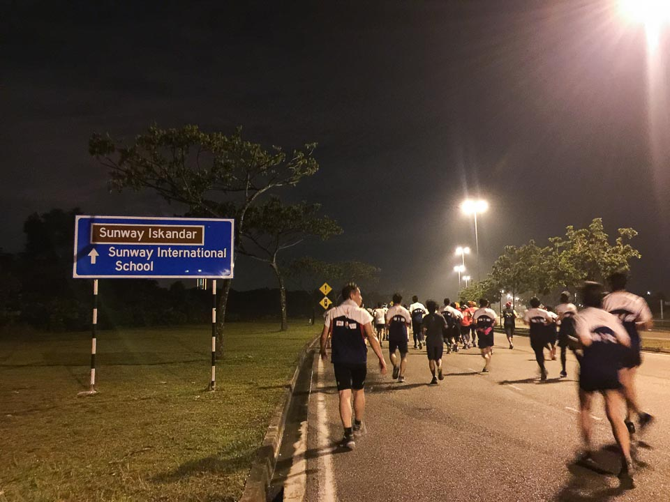 Iskandar Puteri Night Marathon 2018 Race Review: A Hard Battle