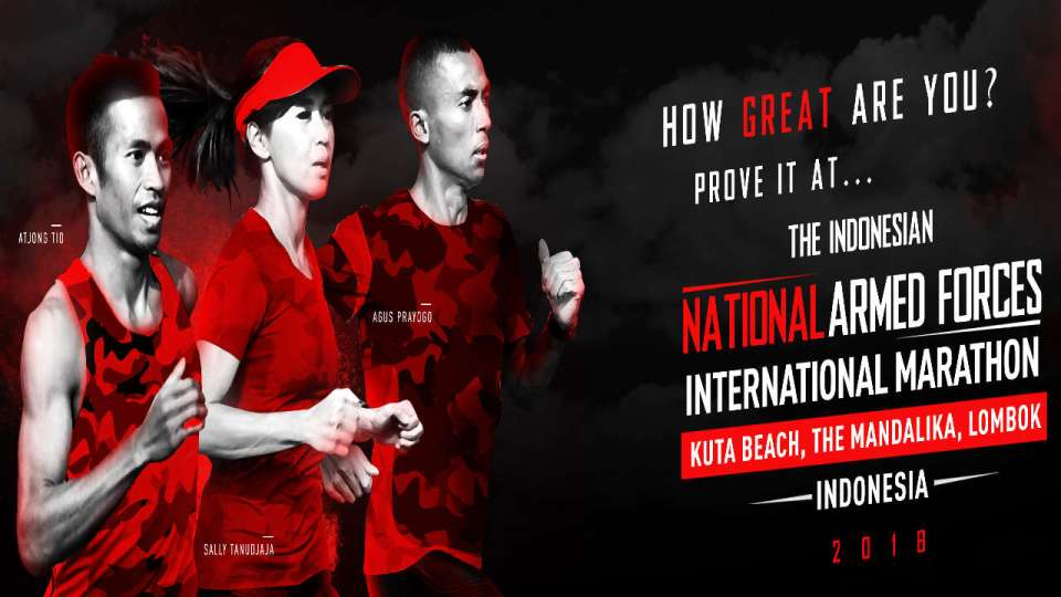 The Indonesian National Armed Forces International Marathon 2018