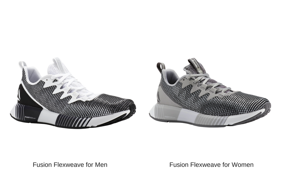 Reebok Introduces Its Full Line Of Performance Silhouettes Featuring Flexweave Technology