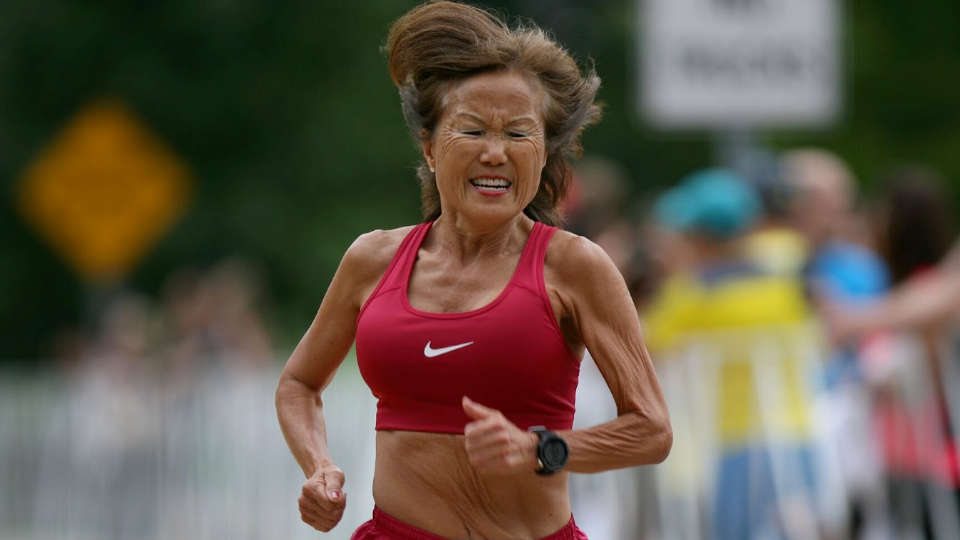 This Women Proved That A Grandmother Can Run Better Than You