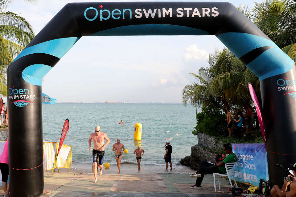 Open Swim Stars Sunset Race Series 2018