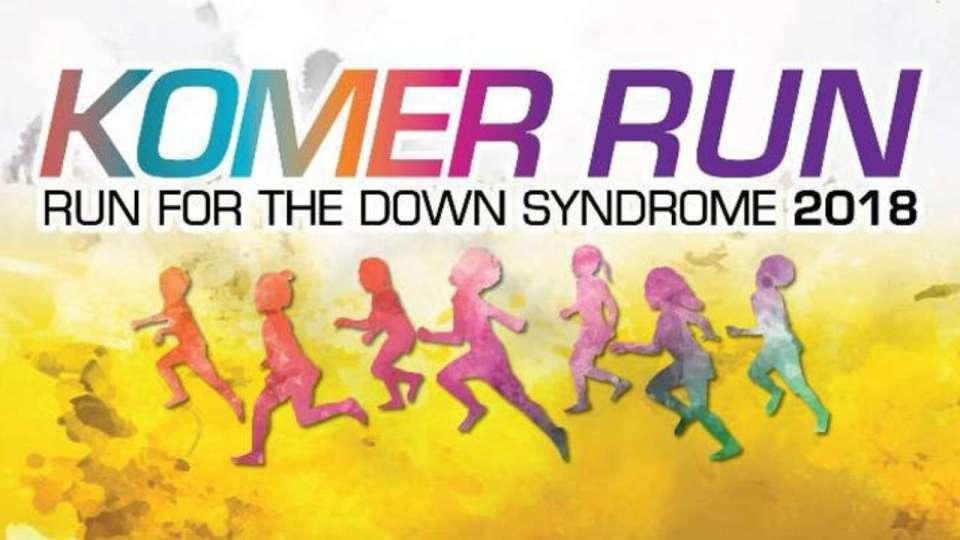 Komer Run – Run for the Down Syndrome 2018