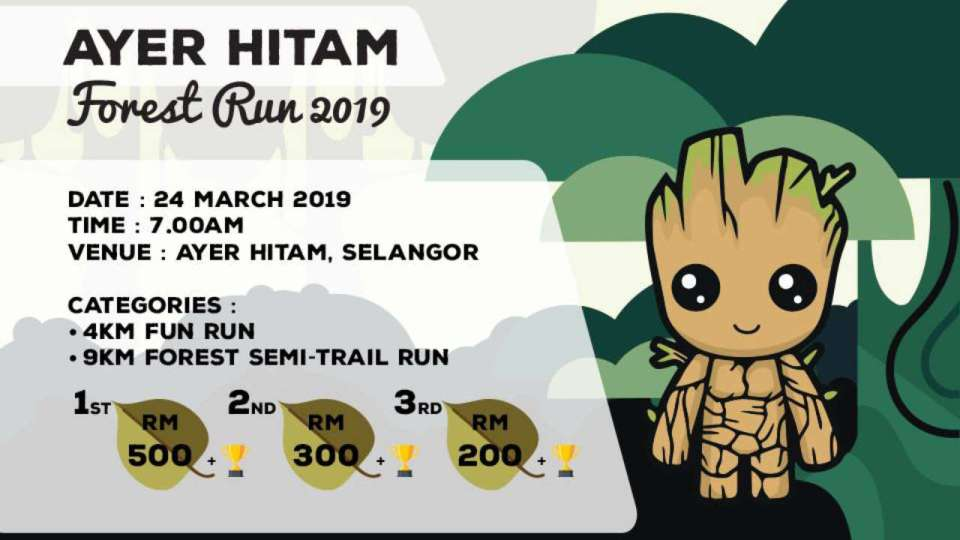 Ayer Hitam Forest Run 2019