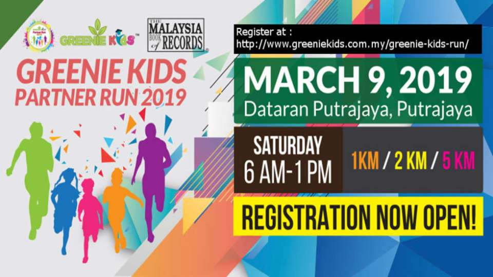Greenie Kids Partner Run 2019
