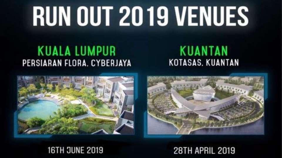 Run Out Marathon 2019 – Kuala Lumpur