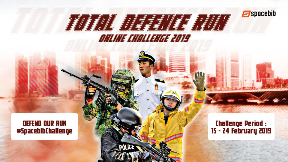 Defend Your Run in Honour of Total Defence Day 2019