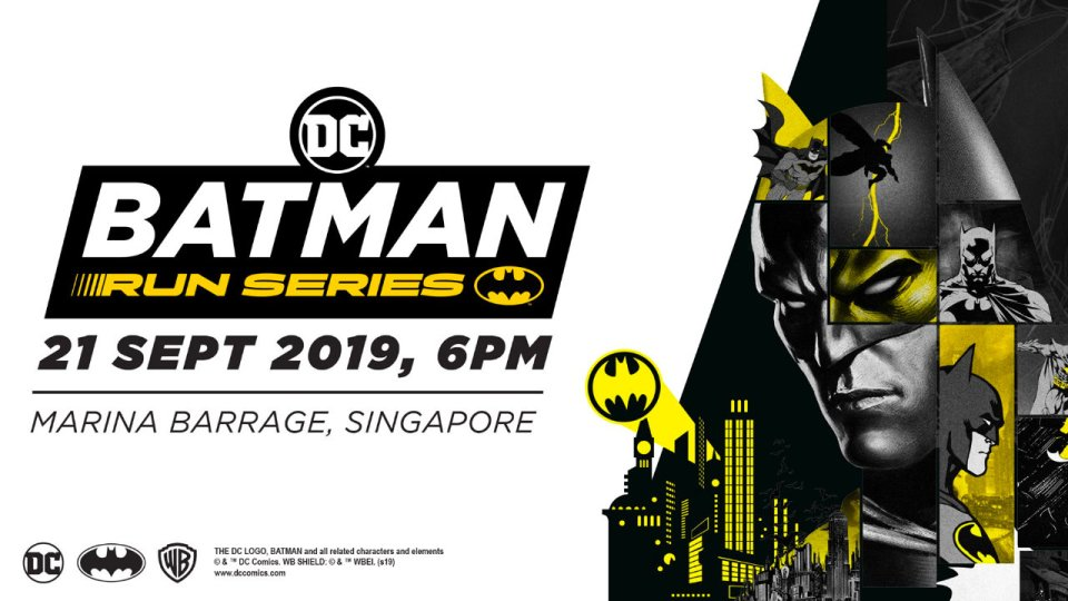 Batman Run Singapore 2019