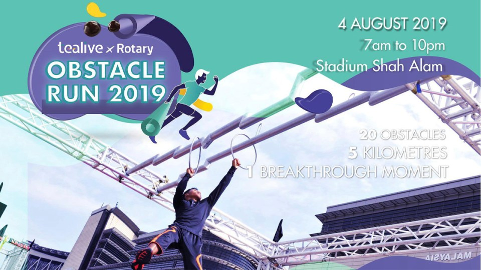 Tealive x Rotary Obstacle Run 2019