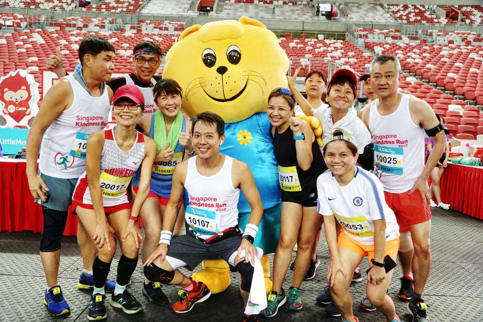 Singapore Kindness Run: 1,500+ Participants Run Towards a More Gracious and Inclusive Singapore