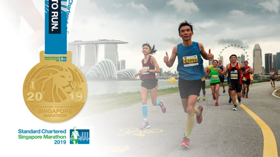 Check Out The 2019 Standard Chartered Singapore Marathon Finisher Medal Design