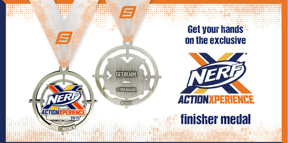Are You Ready For The First NERF Action Xperience Online Race?
