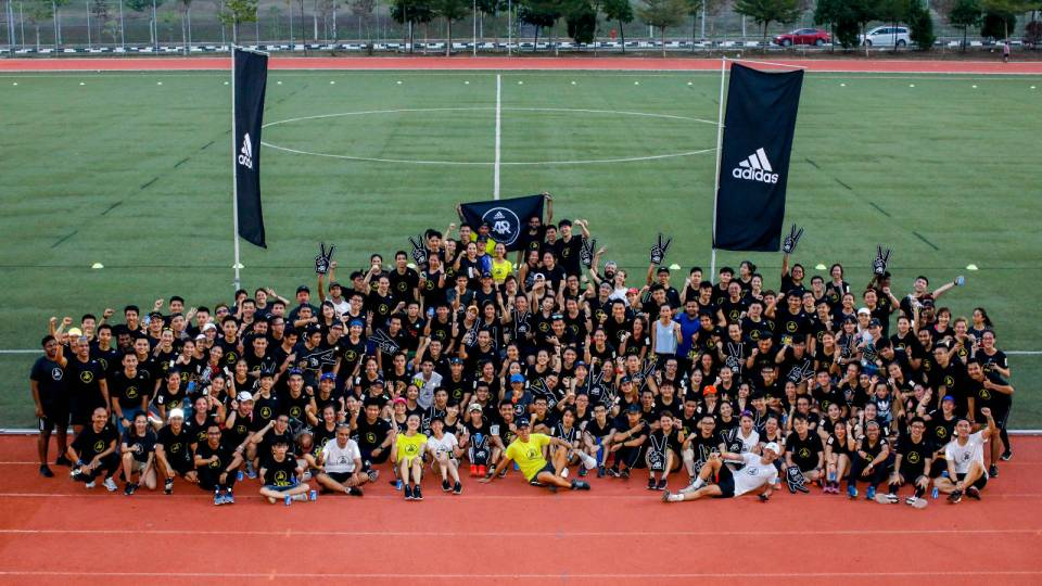 adidas Runners Set a New Community Record In Their 2nd Anniversary Run