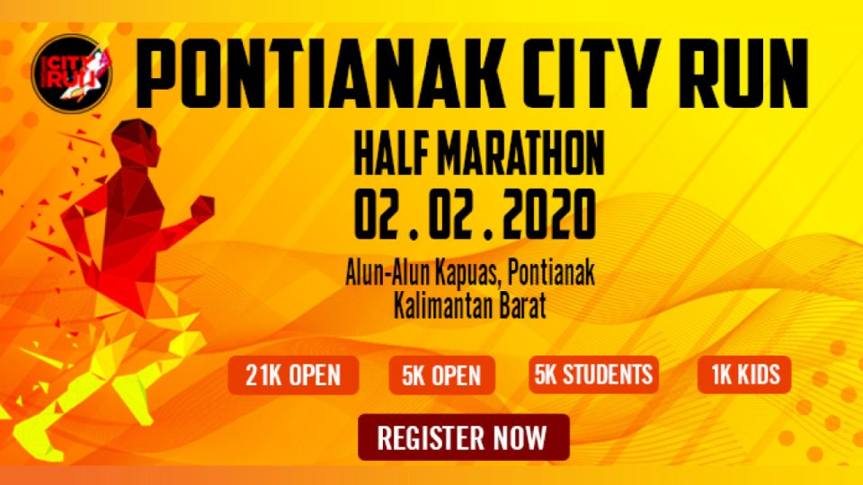 Pontianak City Run Half Marathon 2020
