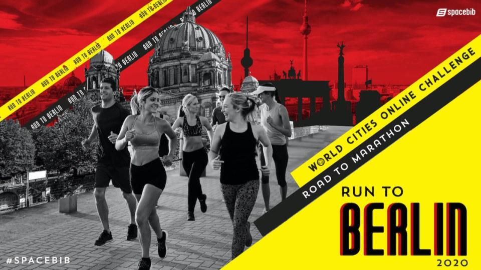 World Cities Online Challenge: Run To Berlin 2020