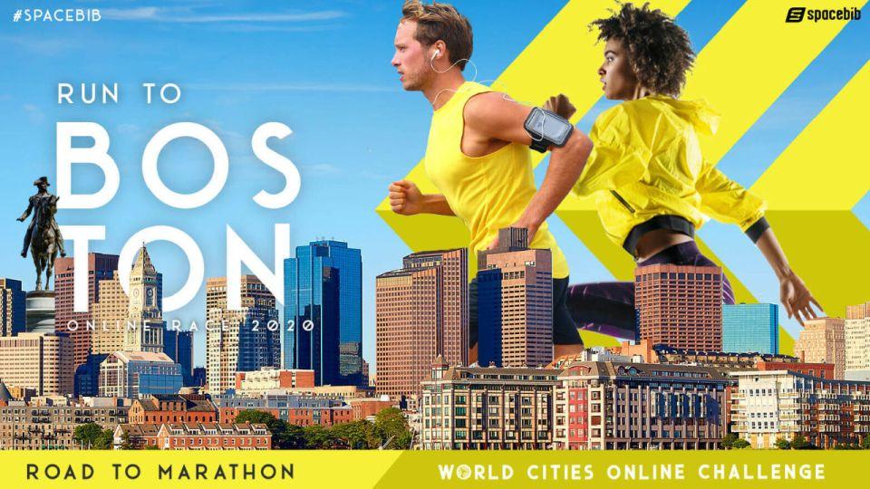 World Cities Online Challenge: Run To Boston 2020