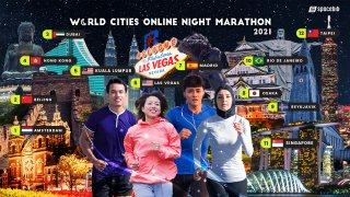 World Cities Online Night Marathon 2021 race series