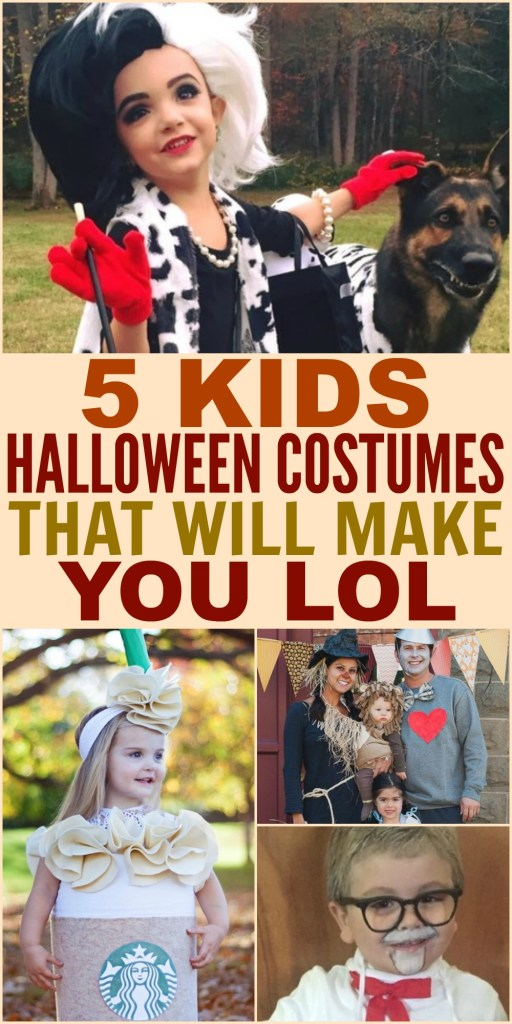 5 Kids Halloween Costumes That Will Make You LOL