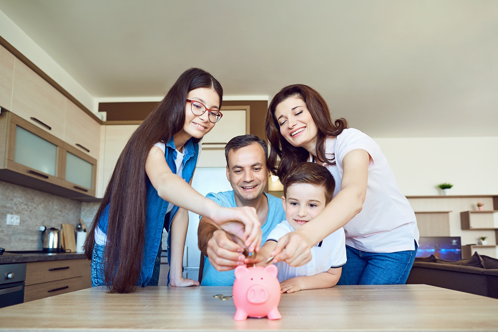 ways your family can save money around your home