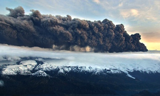 Icelandic Volcano Eyjafjallajokull