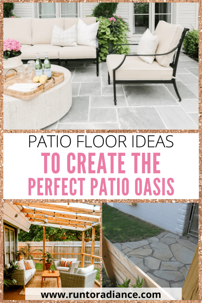patio floor ideas for spring and summer