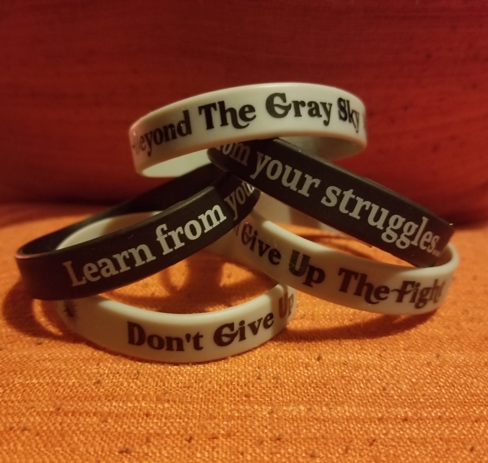 311 fan spotlights runt rant i created bracelets that i mail out to help remind people to not give up the fight and find their reason to live and fight the darkness hexwebz Choice Image