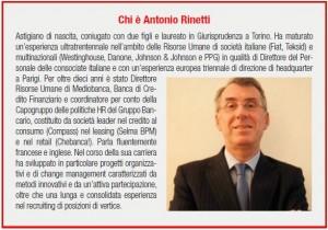 Chi è Antonio Rinetti