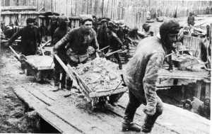 I lavori forzati nei lager