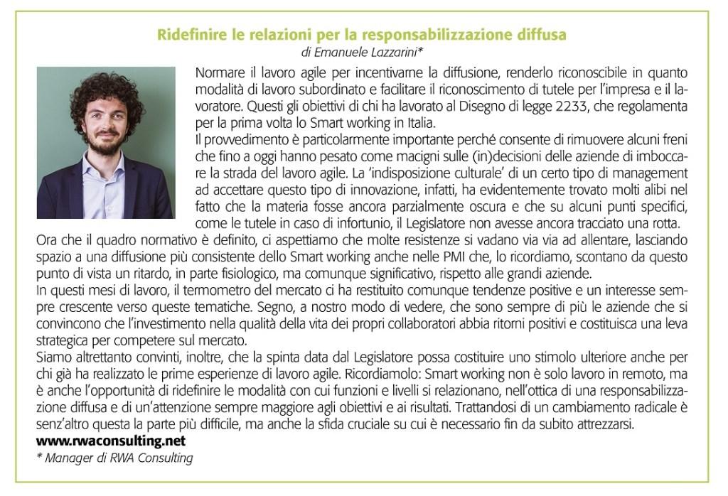 contributo Emanuele Lazzarini