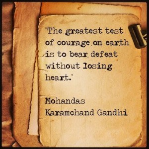 Motivational Monday: Accepting Defeat