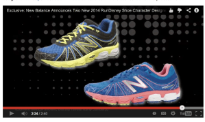 runDisney New Balance Shoes for 2014