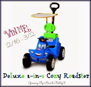 Little Tikes Deluxe 2-in-1 Cozy Roadster GIVEAWAY!