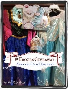 Frozen Costume Giveaway