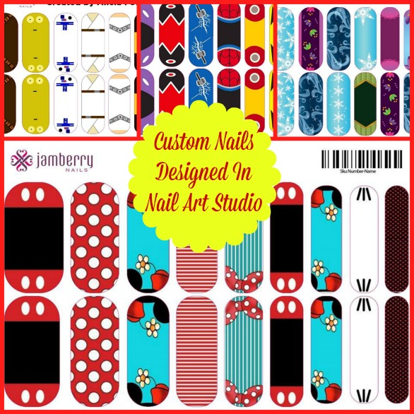 Nail Art Studio: Disney Inspired Jamberry Nails