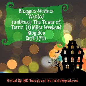 Virtual Blog Hop The Twilight Zone Tower of Terror 10 Miler: Bloggers Wanted!
