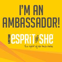 Esprit De She Race Series Ambassador!