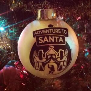 Adventure to Santa ornament