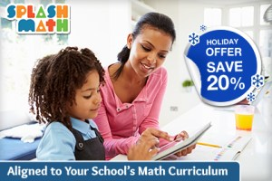 Save 20% This Holiday Season on Splash Math