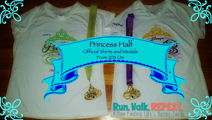 Princess Half Shirts and Medals