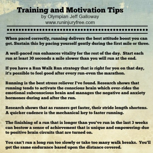 Galloway Training and Motivation ips