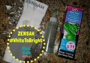 White to Bright Zensah Leg Compression Sleeve Challenge and Giveaway!