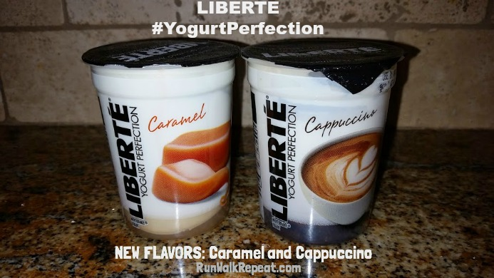 Liberte New Flavors Caramel and Cappucino