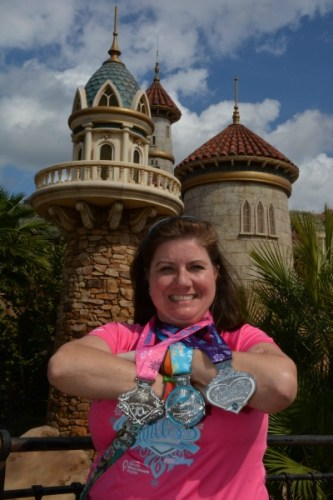 Glass Slipper Challenge Medals: 19.3 Miles in 2 Days