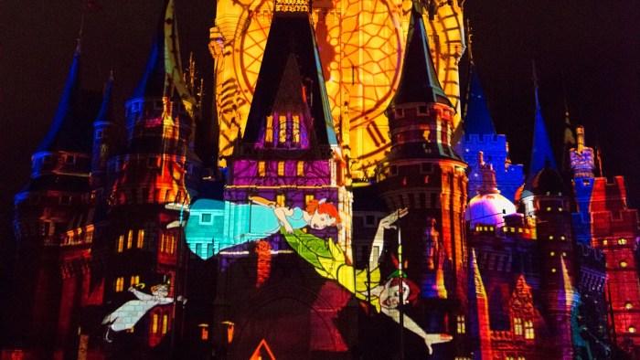 Disney parks Castle show