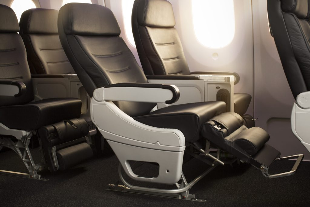 Air New Zealand's premium economy is specifically delineated from its Works Deluxe middle-seat-free, extra-legroom economy product