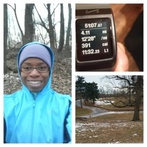 4 mile training run